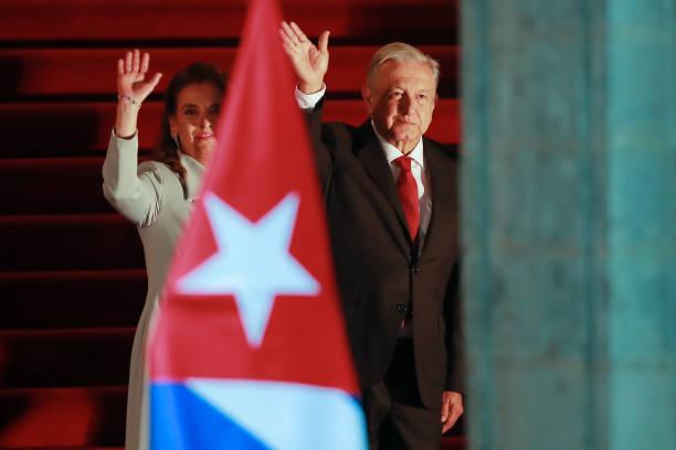 MEX: President of Cuba Miguel Mario Díaz-Canel Bermudez Visits Mexico