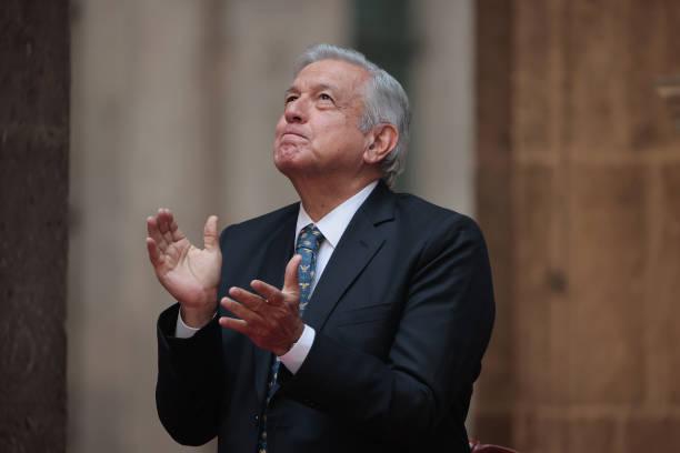 MEX: President Lopez Obrador Commemorates Cinco de Mayo