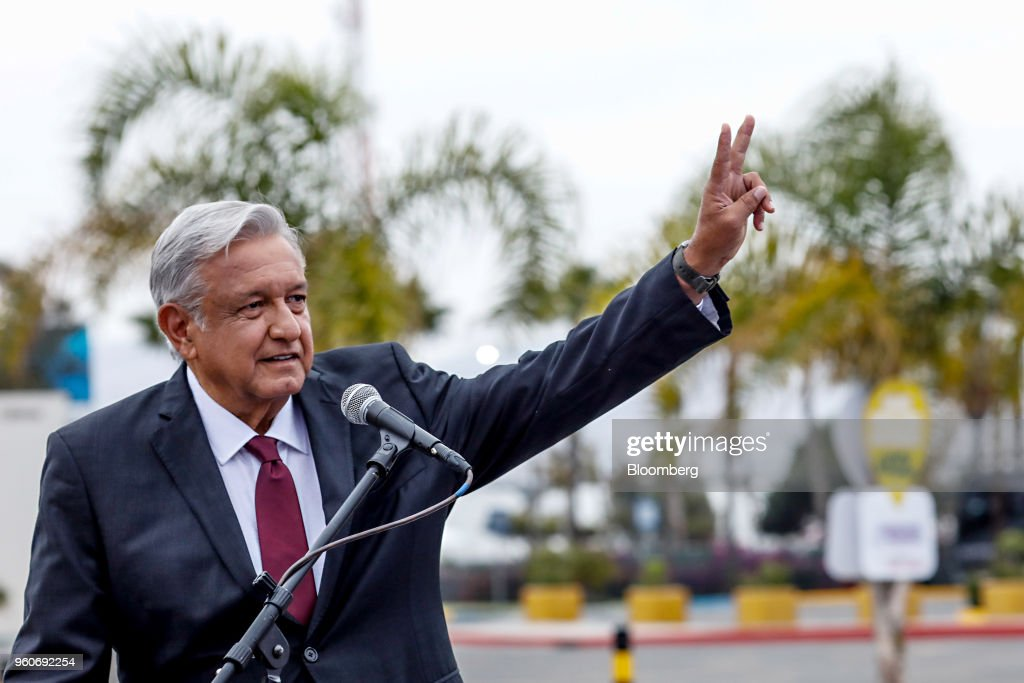 Presidential Candidates Attend Second Debate As Lopez Obrador Leads Mexico Polls