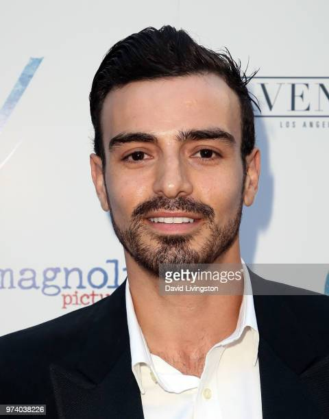 Andres Mejia attends Magnolia Pictures' 'Damsel' premiere at ArcLight Hollywood on June 13 2018 in Hollywood California