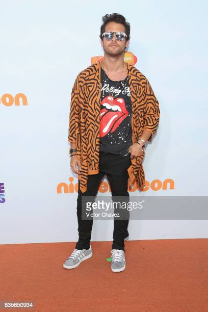 Andres Mercado attends the Nickelodeon Kids' Choice Awards Mexico 2017 at Auditorio Nacional on August 19 2017 in Mexico City Mexico