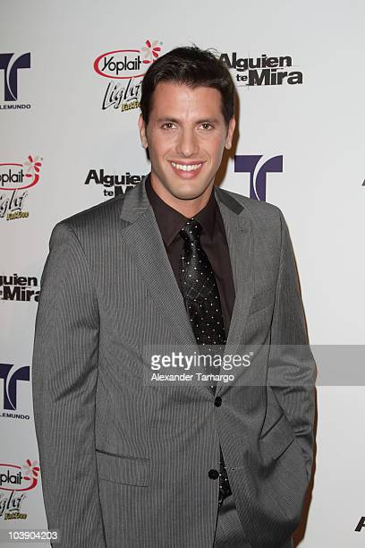 Andres Mistage attends screening of Telemundo's 'Alguien Te Mira' at The Biltmore Hotel on September 7 2010 in Coral Gables Florida