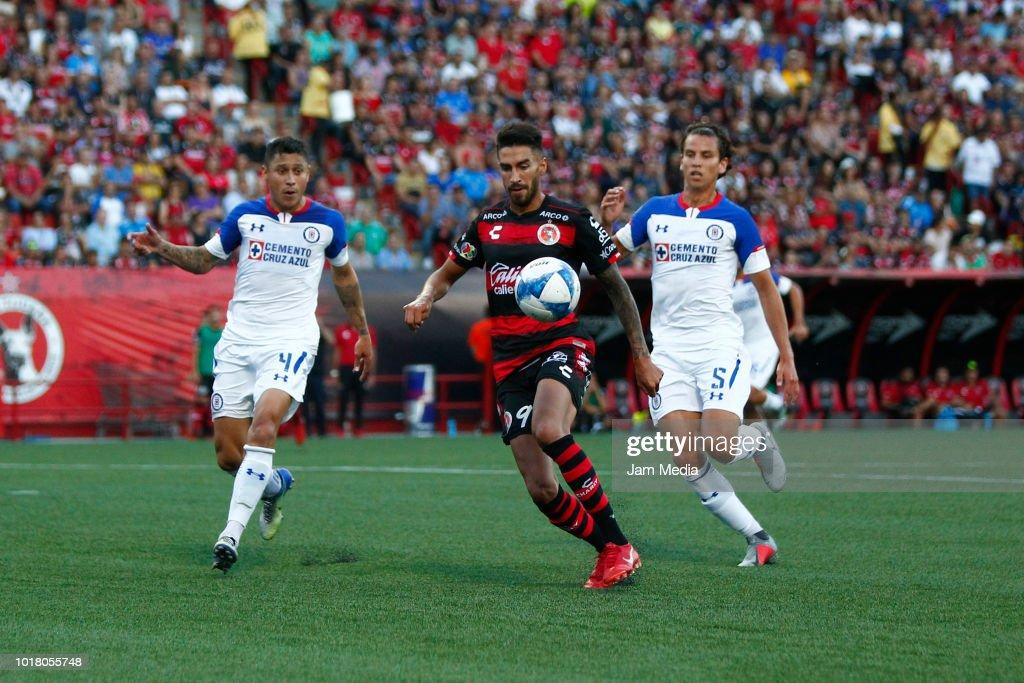 Tijuana V Cruz Azul Torneo Apertura  Liga Mx