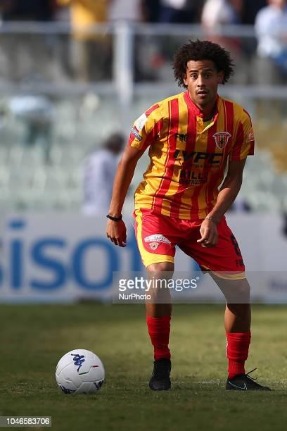 Andres Munoz Tello of Benevento Calcio during the Italian Serie B 2018/2019 match between Pescara Calcio 1936 FC and Benevento Calcio at Adriatico...