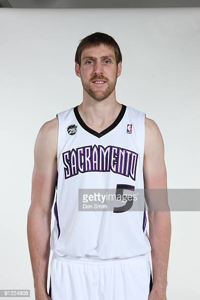Andres Nocioni of the Sacramento Kings poses for a portrait during 2009 NBA Media Day on September 28 2009 at the Practice Facility in Sacramento...