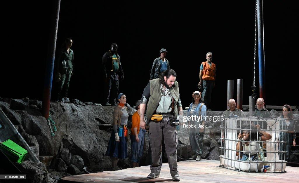 "George Frideric Handel's ""Susanna"" At The Linbury Theatre : News Photo"