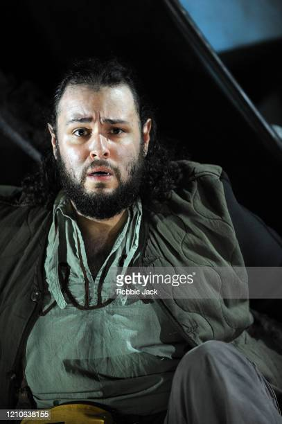 Andres Presno as First Elder in The Royal Opera's production of George Frideric Handel's Susanna directed by Isabelle Kettle and conducted by Patrick...