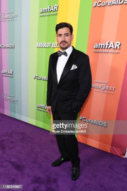 Andres Prieto attends the 2019 amfAR Gala Los Angeles at Milk Studios on October 10 2019 in Los Angeles California