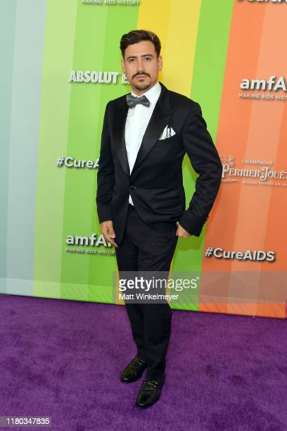Andres Prieto attends the 2019 amfAR Gala Los Angeles at Milk Studios on October 10, 2019 in Los Angeles, California.