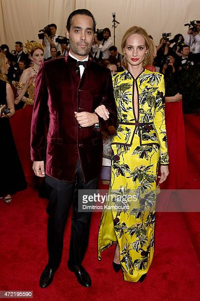 Andres Santo Domingo and Lauren Santo Domingo attend the 'China Through The Looking Glass' Costume Institute Benefit Gala at the Metropolitan Museum...
