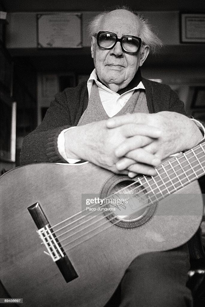 Andrés Segovia: Maestro Segovia - 1965 Classical Guitar LP ...