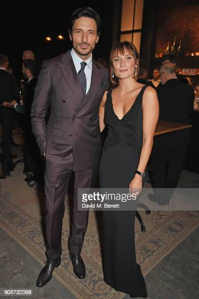 Andres Velencoso and Ana Girardot attend the IWC Schaffhausen Gala celebrating the Maison's 150th anniversary and the launch of its Jubilee...