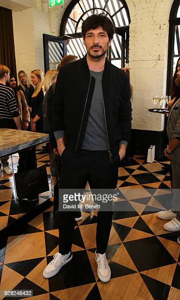 Andres Velencoso attends Ami Mayfair Store Opening on May 4 2016 in London England