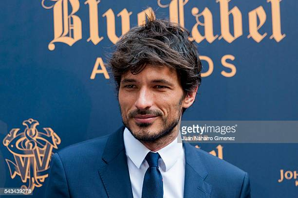 Andres Velencoso attends 'Blue Label Awards' at Residence of the Ambassador of United Kingdom in Spain on June 28 2016 in Madrid Spain