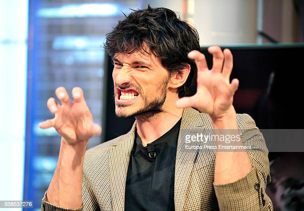Andres Velencoso attends 'El Hormiguero' Tv show on June 6 2016 in Madrid Spain