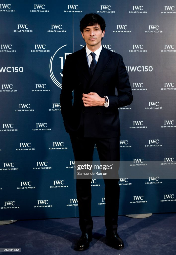 Andres Velencoso attends 'IWC - Fuera de Serie' 150 Anniversary Party on May 30, 2018 in Madrid, Spain.