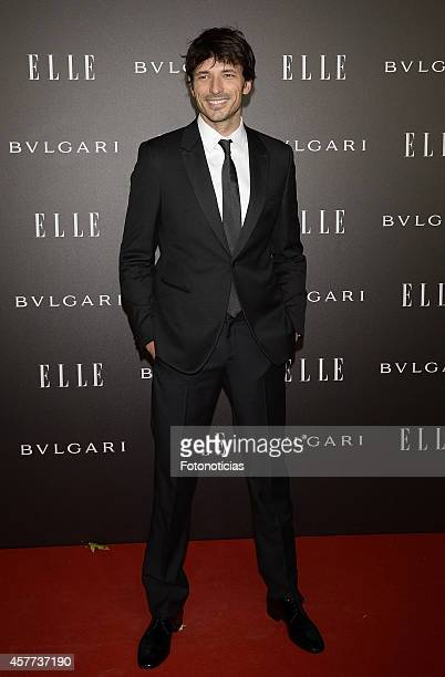 Andres Velencoso attends the Elle Style Awards party at the Italian Embassy on October 23 2014 in Madrid Spain