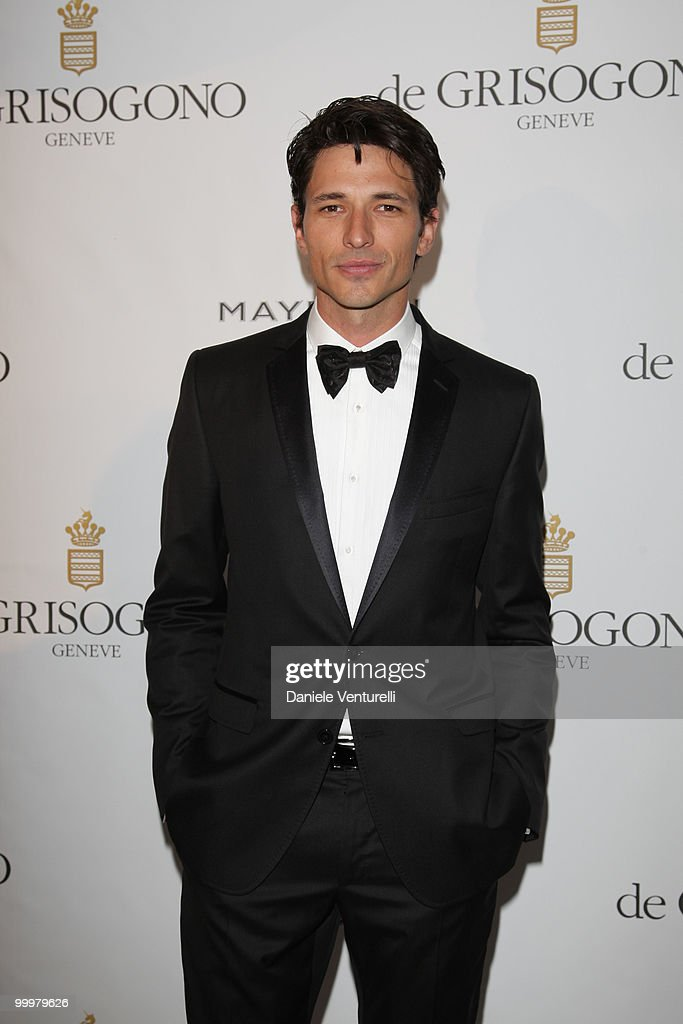 Andres Veloncoso attends the de Grisogono party at the Hotel Du Cap on May 18, 2010 in Cap D'Antibes, France.