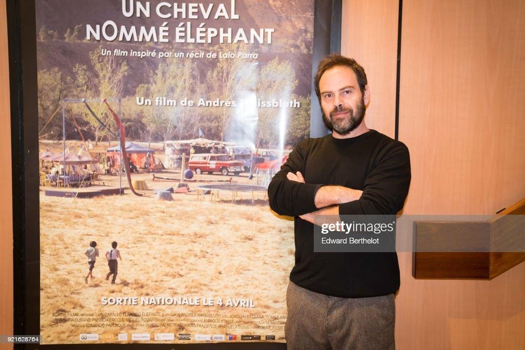 Un caballo llamado Elefante - Un  Cheval Nomme Elephant : Photocall At Cinema Les 7 Parnassiens In Paris : Foto di attualità