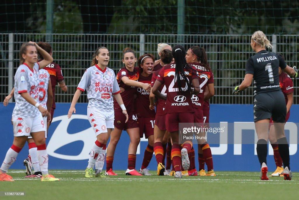 AS Roma v Pink Bari - Women Serie A : News Photo