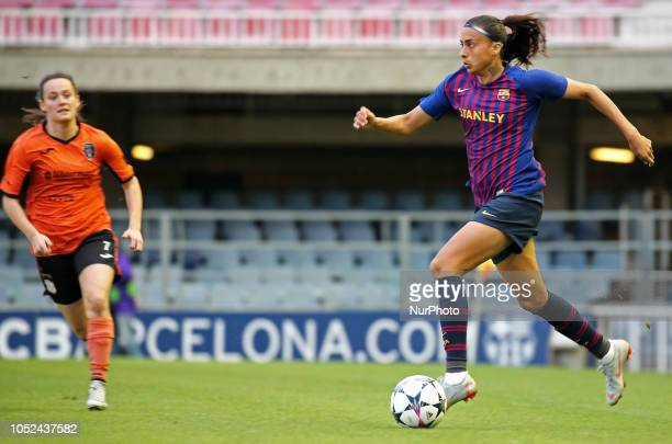 Andressa Alves during the match between FC Barcelona and Glasgow City FC corresponding to the first leg of the 1/8 final of the UEFA Womens Champions...