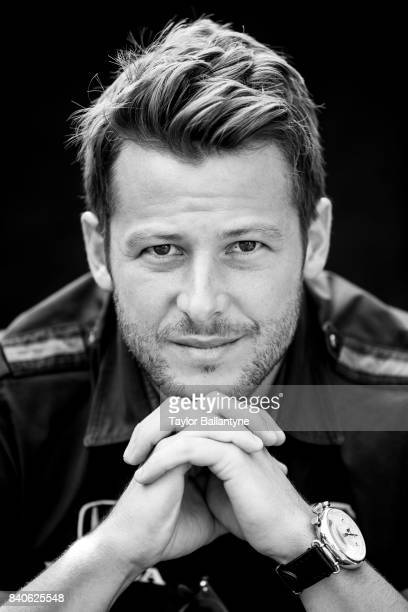 Andretti Autosport driver Marco Andretti is photographed for Sports Illustrated on August 20, 2017 at Pocono Raceway, Verizon IndyCar Series, at Long...
