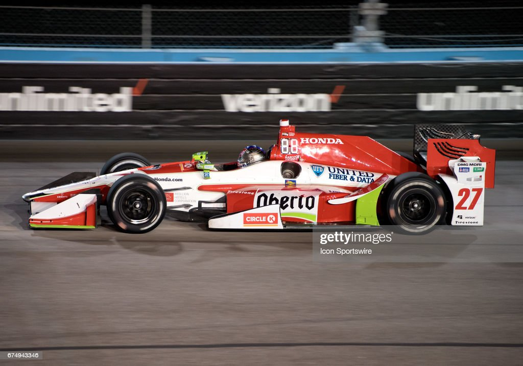 AUTO: APR 28 IndyCar - Phoenix Grand Prix : News Photo