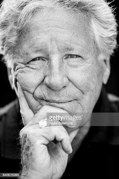 Andretti Autosport owner and former driver Mario Andretti is photographed for Sports Illustrated on August 20, 2017 at Pocono Raceway, Verizon...