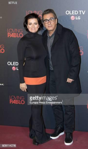 Andreu Buenafuente and Silvia Abril attend 'Loving Pablo' premiere at Callao cinema on March 7 2018 in Madrid Spain
