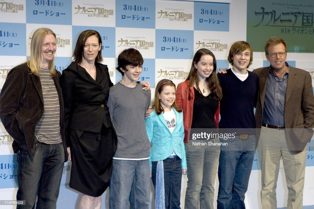 The Chronicles of Narnia: The Lion, the Witch and the Wardrobe Tokyo Press Conference : News Photo