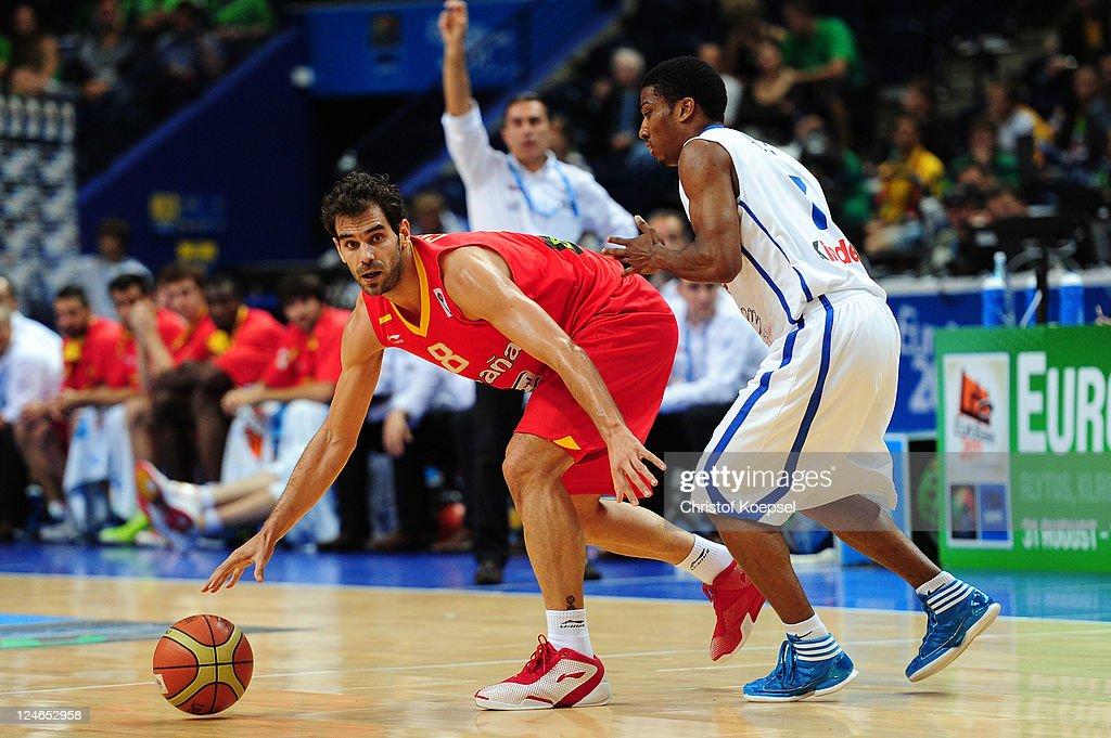 France v Spain - EuroBasket 2011