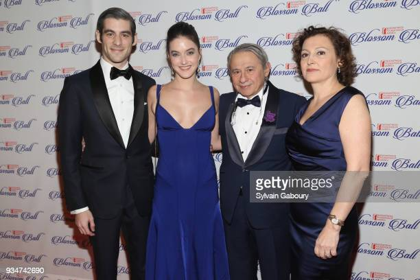 Andrew Aronow Alaia Balwin Tamer Seckin MD and Elif Seckin attend The Endometriosis Foundation of America Celebrates their 9th Annual Blossom Ball...