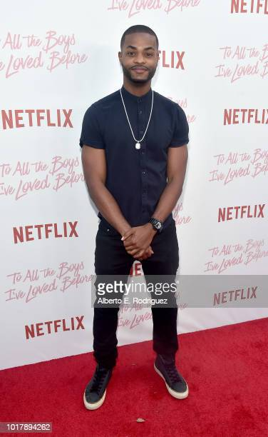 Andrew Bachelor attends a screening of Netflix's 'To All The Boys I've Loved Before' at Arclight Cinemas Culver City on August 16 2018 in Culver City...