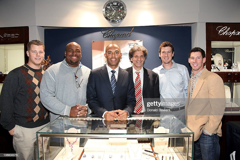 Major League Baseball Players, Including New York Yankees Closer Mariano Rivera, Make Appearance at Manfredi Jewels