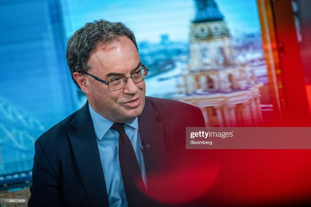 GBR: Financial Conduct Authority CEO Andrew Bailey Interview