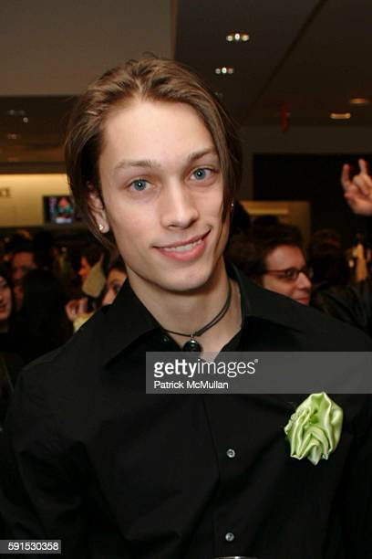 Andrew Baker @ DNA Models attends Versace Men's Spring 2006 Collection Launch at Saks Fifth Avenue on December 8 2005 in New York City
