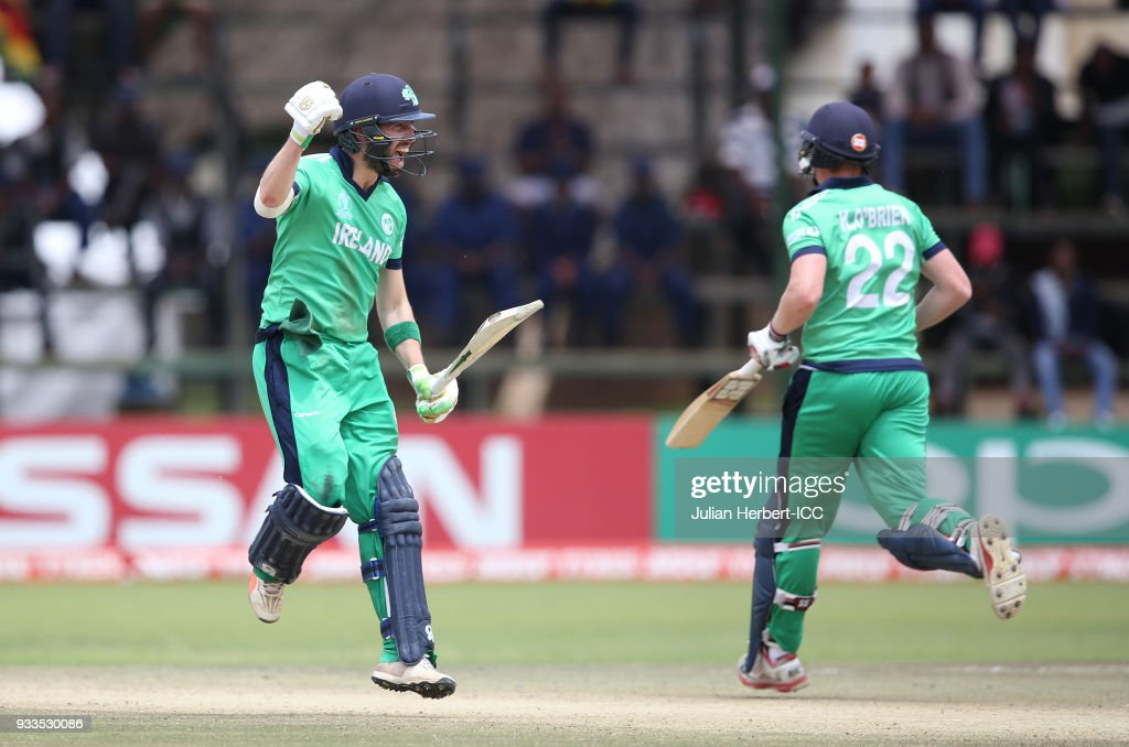Ireland v Scotland - ICC Cricket World Cup Qualifier
