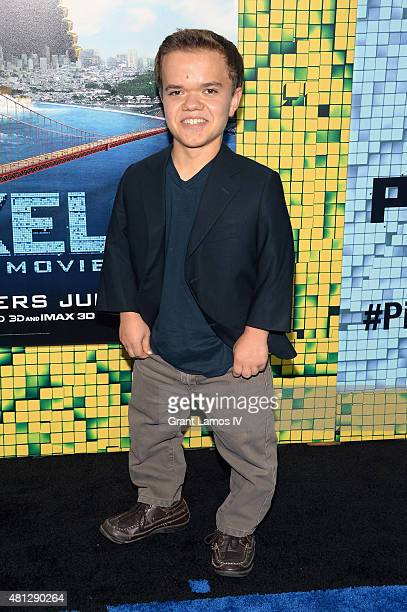 Andrew Bambridge attends the 'Pixels' New York Premiere at Regal EWalk on July 18 2015 in New York City