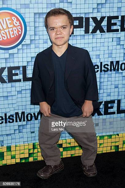 Andrew Bambridge attends the 'Pixels' world premiere at the Regal EWalk Theater in New York City �� LAN