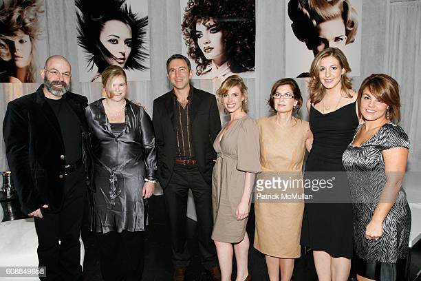 Andrew Bartfield Claire Reeves Paul Schiraldi Rachel Stroback Arlene Benza Stacey Friedman Kate Oeschsle and attend L'OREAL Professionnel Presents...