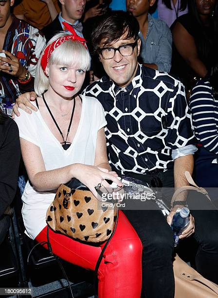 Andrew Bevan attends the Emerson By Jackie FraserSwan fashion show during MercedesBenz Fashion Week Spring 2014 at The Studio at Lincoln Center on...