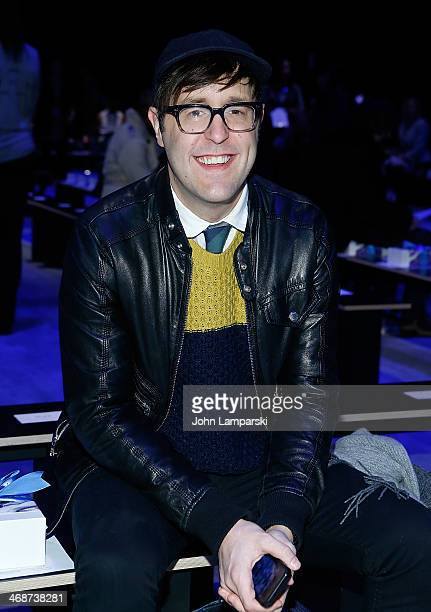 Andrew Bevan attends the Libertine Show during MercedesBenz Fashion Week Fall 2014 at The Pavilion at Lincoln Center on February 11 2014 in New York...