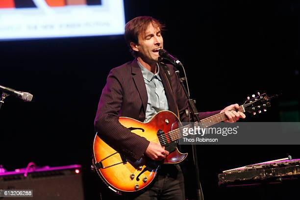 Andrew Bird performs live during The 2016 New Yorker Festival at Gramercy Theatre on October 7 2016 in New York City