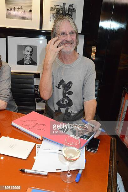 Andrew Birkin attends the 'Jane Et Serge A Family Album' Book Signing At Taschen Odeon on October 22 2013 in Paris France