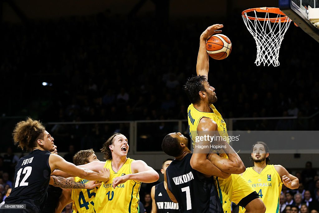 Australian Boomers v New Zealand Tall Blacks - Game 2 : News Photo
