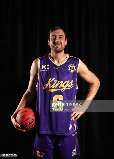 Andrew Bogut of the Sydney Kings poses during a NBL Media Opportunity on June 27 2018 in Melbourne Australia The National Basketball Association and...