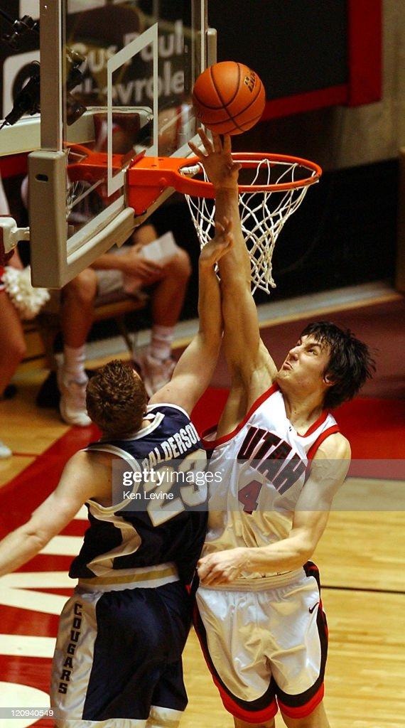 NCAA Men's Basketball - BYU vs Utah College - February 26, 2005