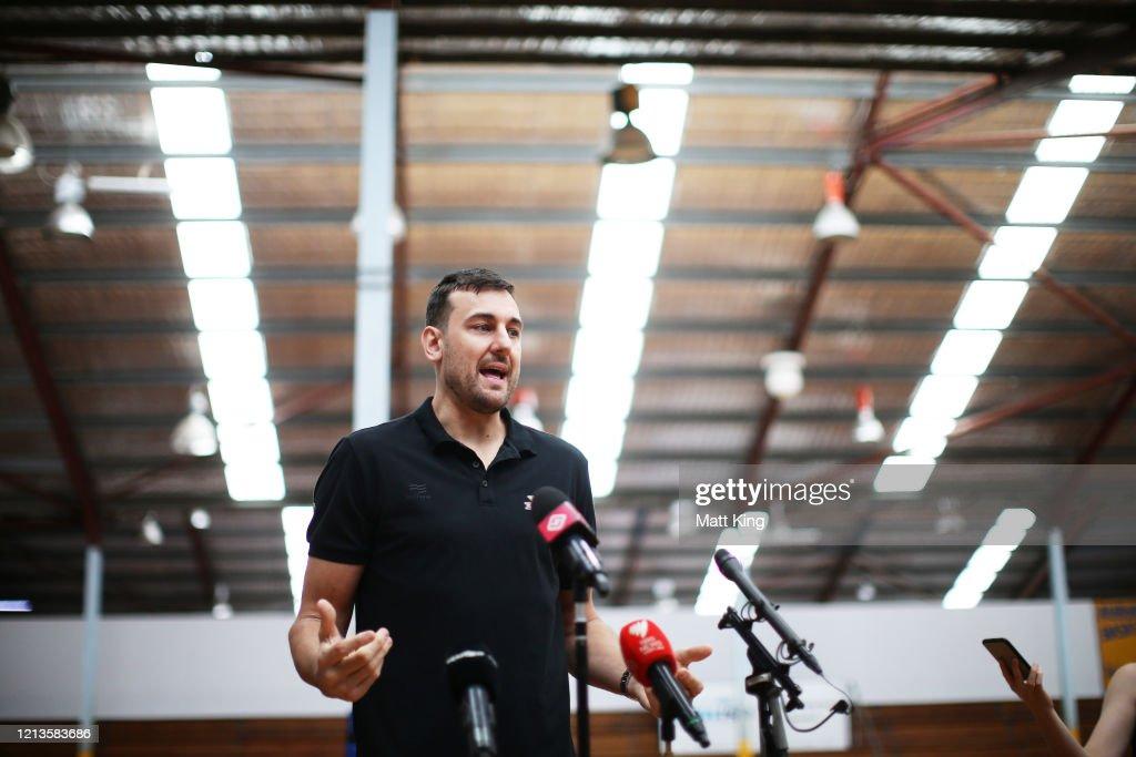Sydney Kings Press Conference : News Photo