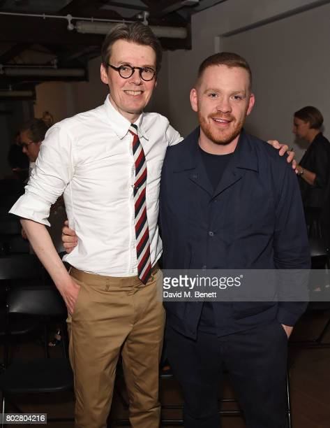 Andrew Bolton and Craig Green attend The Art Of Curating Fashion with Andrew Bolton presented by Sarabande The Lee Alexander McQueen Foundation on...