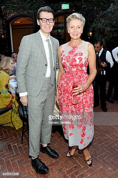 Andrew Bolton and Shelley Reid attend as Susan Casden and Friends of The Costume Institute The Metropolitan Museum of Art host a dinner in honor of...